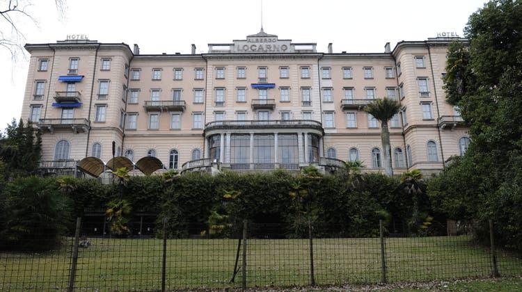 Das Grand Hotel Locarno soll bald wieder Gäste beherbergen. Seit 2006 ist es nun geschlossen. (Keystone)