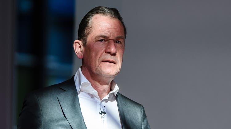 Hält den Grossteil der deutschen Journalisten ausserhalb seines eigenen Konzerns für «Propaganda-Assistenten»: «Axel-Springer»-Chef Mathias Döpfner: (Keystone (2019))
