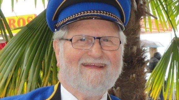 Max Widmer ist seit 1950 aktiver Trompeter in der Musikgesellschaft Muhen. Dafür wurde er nun geehrt. (zvg)