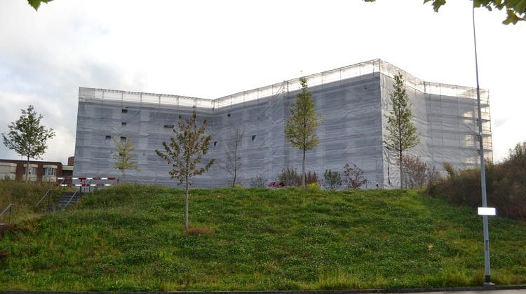 Die Büros im Seniorenzentrum Uzwil werden im Dezember bezogen. (Bild: PD)