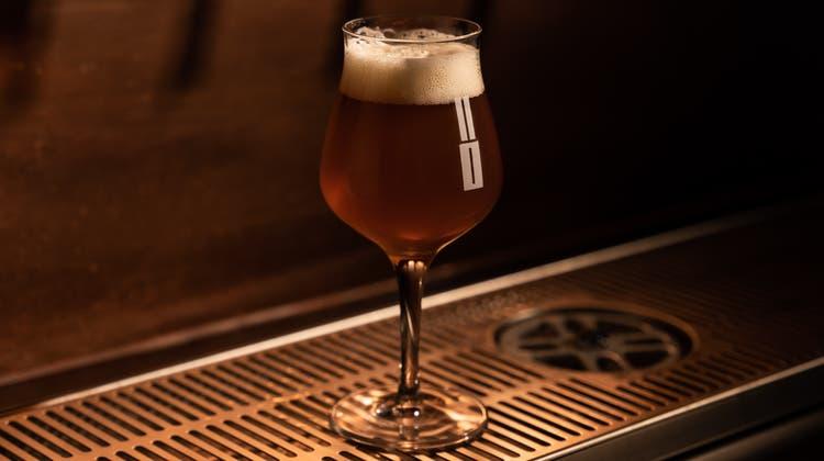 Ein frisch gezapftes Bier, schörkellos und ein bisschen prollig. (Zvg)