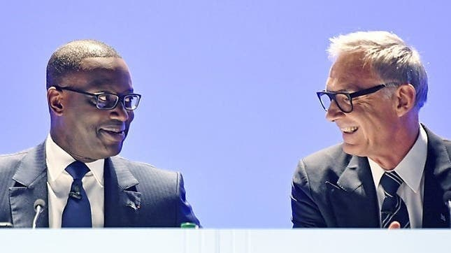 Ehemaliges Führungsduo der Credit Suisse: CEO Tidjane Thiamund VR-Präsident Urs Rohner. (CH Media)