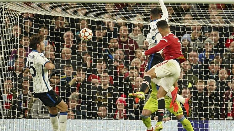 Cristiano Ronaldo bescherte seinem Team mit seinem wuchtigen Kopfballtor den Sieg. (Keystone)
