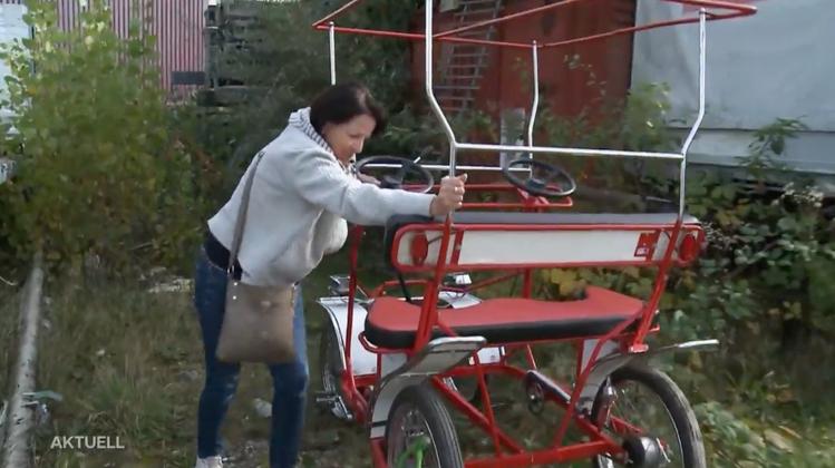 Gestohlenes Hochzeits-Fahrrad in Wettingen wieder aufgetaucht