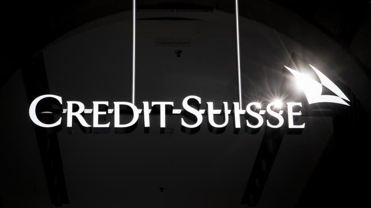 Viel Schatten wenig Licht bei der Credit Suisse. (Keystone)