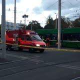 Die Polizei Basel-Landschaft im Einsatz. (Kenneth Nars)