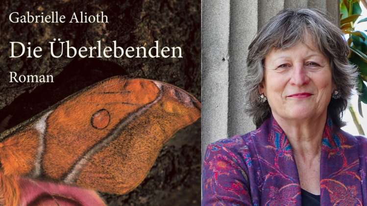 Die Basler Schriftstellerin Gabrielle Alioth, 66, schrieb schon zahlreiche erfolgreich Bücher. «Die Überlebenden» ist ihr neustes Werk. (Bild: zvg)