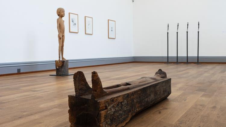 Retrospektive Schang Hutter im Kunstmuseum Solothurn (Hanspeter Bärtschi / SZ)