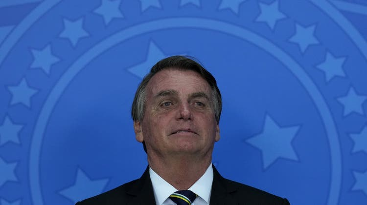 Brasiliens Präsident Jair Bolsonaro droht eine Anklage wegen «Verbrechen gegen die Menschlichkeit». (Eraldo Peres / AP)