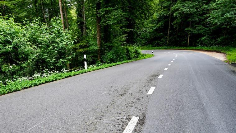 Auf der Strecke zwischen Dornach und Gempenkam es zum Unfall. (Kenneth Nars)