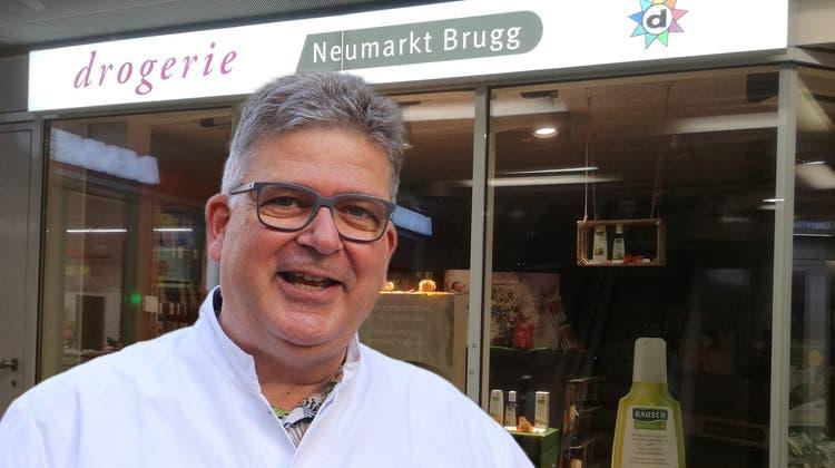 Im Frühling 2022 wird die Drogerie Neumarkt das Licht im Brugger Einkaufszentrum definitiv löschen. (Claudia Meier)