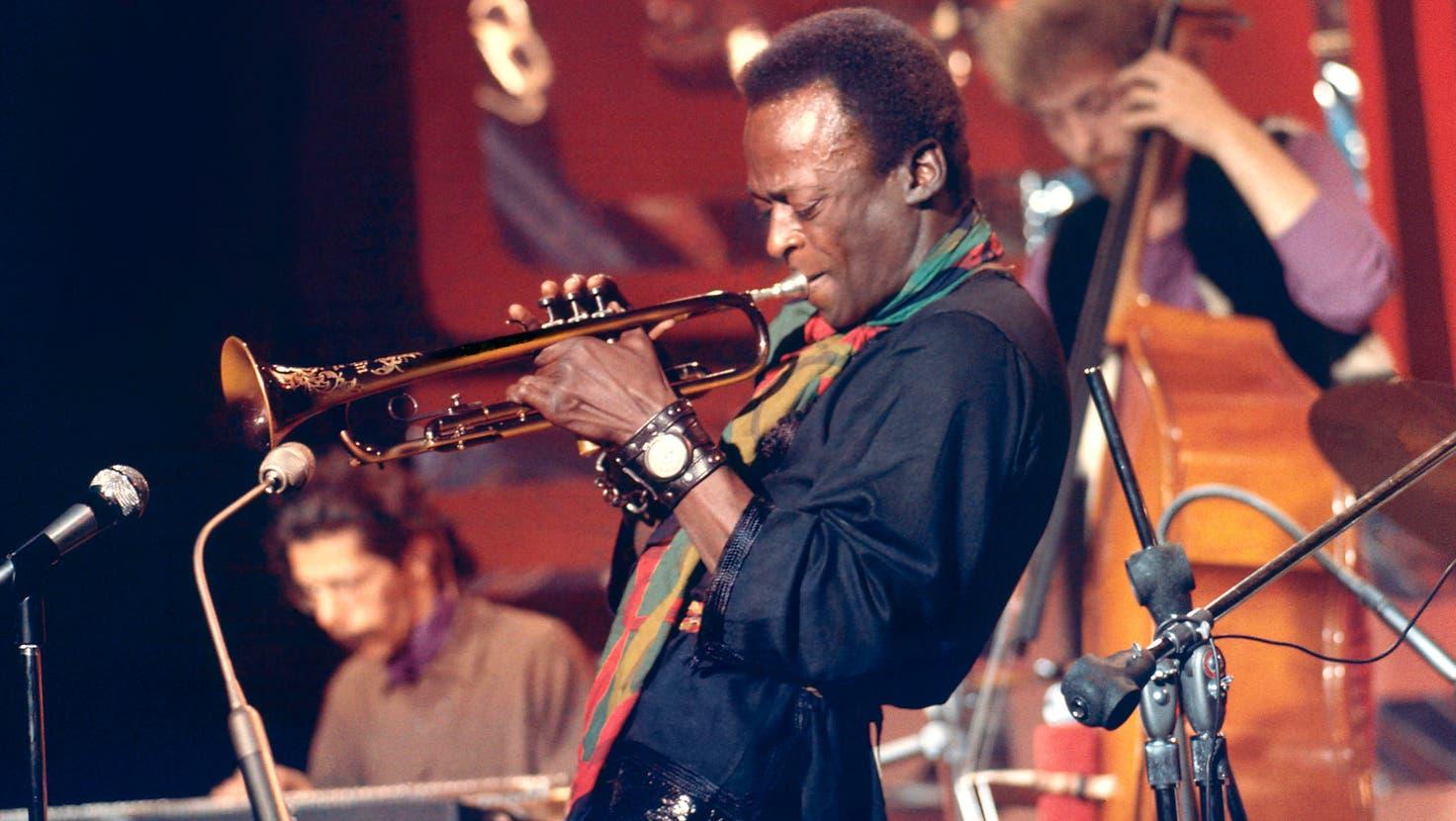 Ein einmaliges Ereignis: Jazztrompeter Miles Davis in der alten Stadthalle Dietikon am 22. Oktober 1971. (zvg/Roland Stucky)