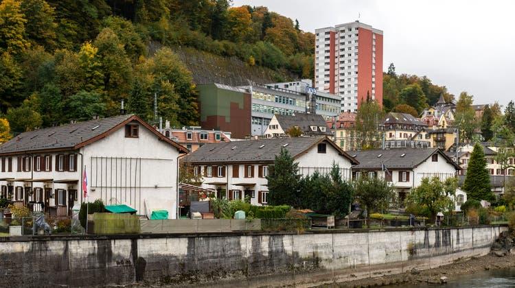 Hier, auf dem frei werdenden Areal des Grenzhof-Schulhauses, soll ein öffentlicher Park entstehen. (Stadt Luzern, Illustration Eckhaus SG)
