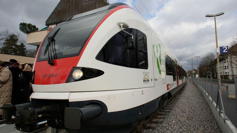 Die Diskussion über die Zukunft der Regio-S-Bahn wird zurzeit heiss diskutiert. (Kenneth Nars / BLZ)