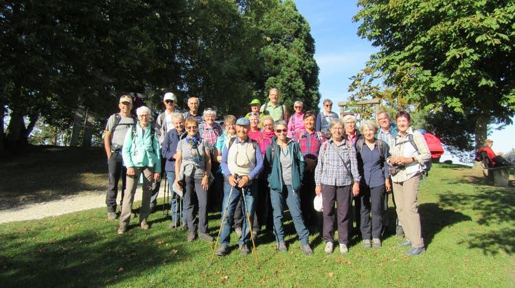 Herbstwanderung der Bergwandergruppe Olten