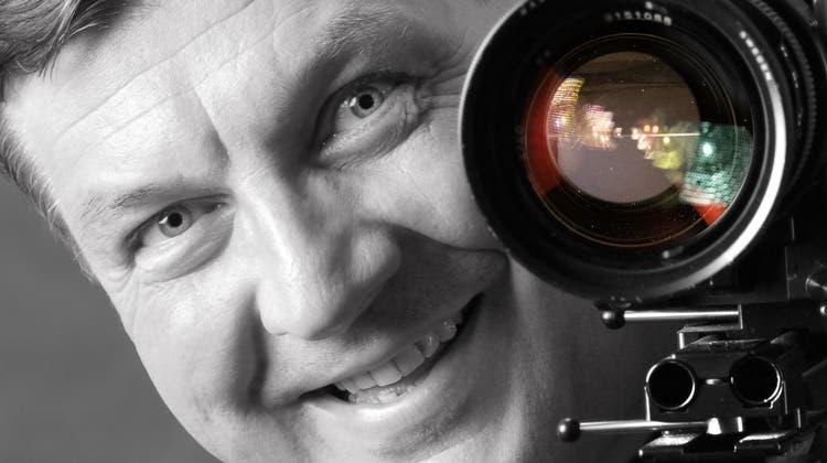 In den 1990er-Jahren kreierte Gessler mit Partner Heinz Erismann die Grossformat-PanoramakameraMultimage. (Max Gessler)