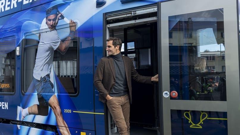 Das Tram wurde heute eingeweiht. (Aimee Baumgartner)