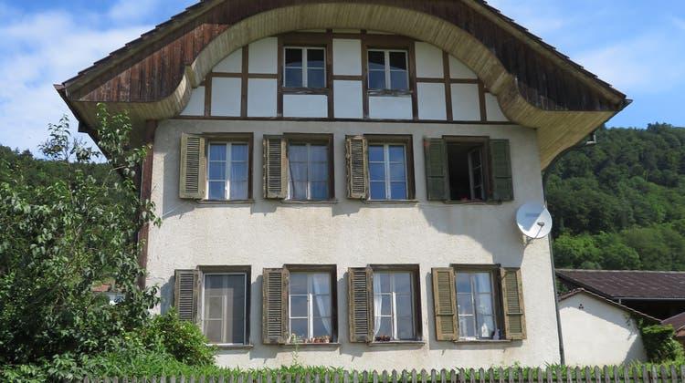 Altes Schulhaus, Balm bei Messen. (Rahel Meier)