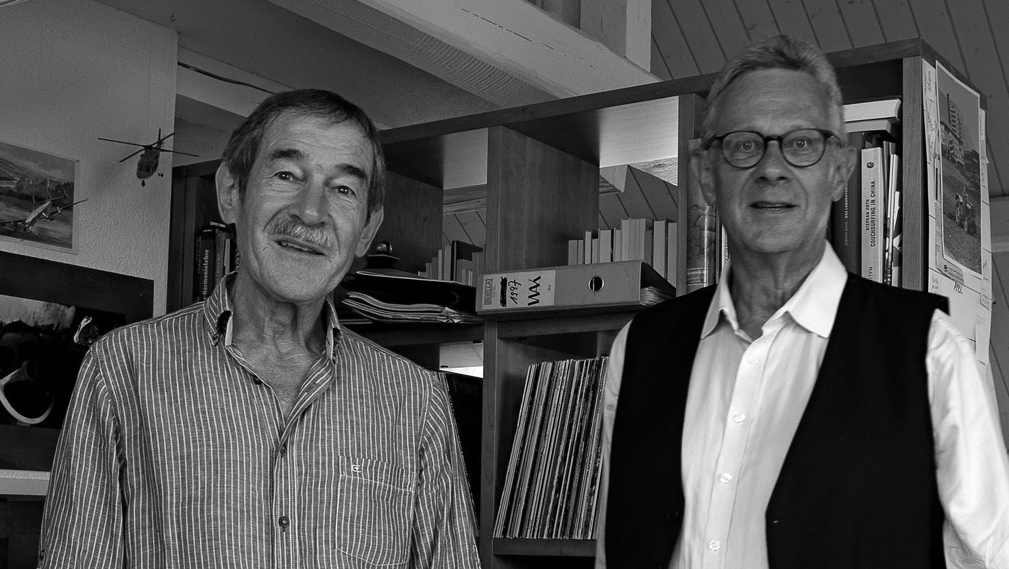 Alois Winiger und André Schluchter. (Alois Winiger)