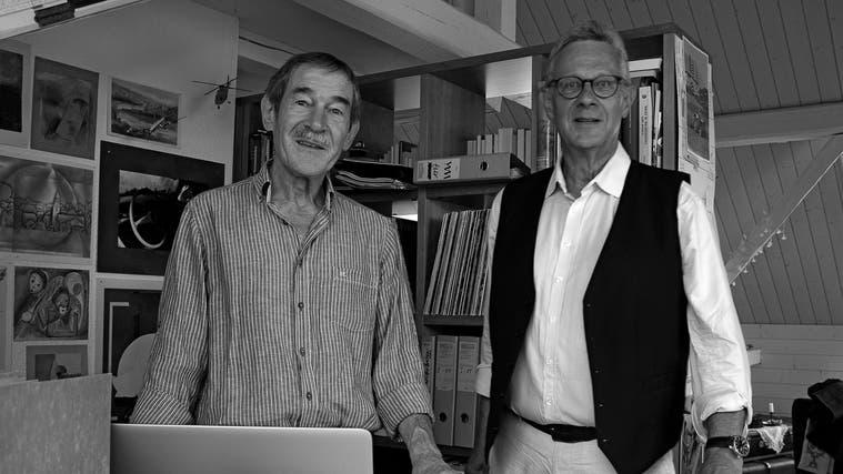 Alois Winiger und André Schluchter. (Alois Winiger / Solothurner Zeitung)