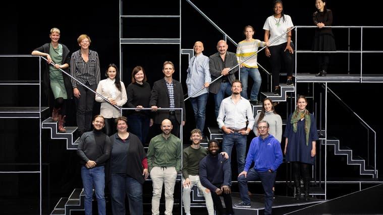 Das Musiktheaterensemble des Theaters St.Gallen. (Bild: PD)