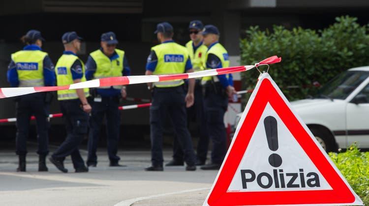 Die Ermittlungen zur Gewalttat in Locarno dauern an. (Symbolbild) (Keystone)