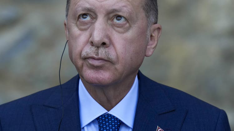 Der Türkische Präsident Erdogan erklärte zehn Botschafter zu unerwünschten Personen. (Bild: Francisco Seco / AP)