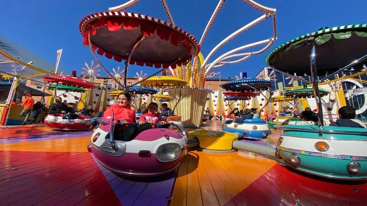 Es ist wieder so weit: Die Basler Herbstmesse 2021 wurde eingeläutet