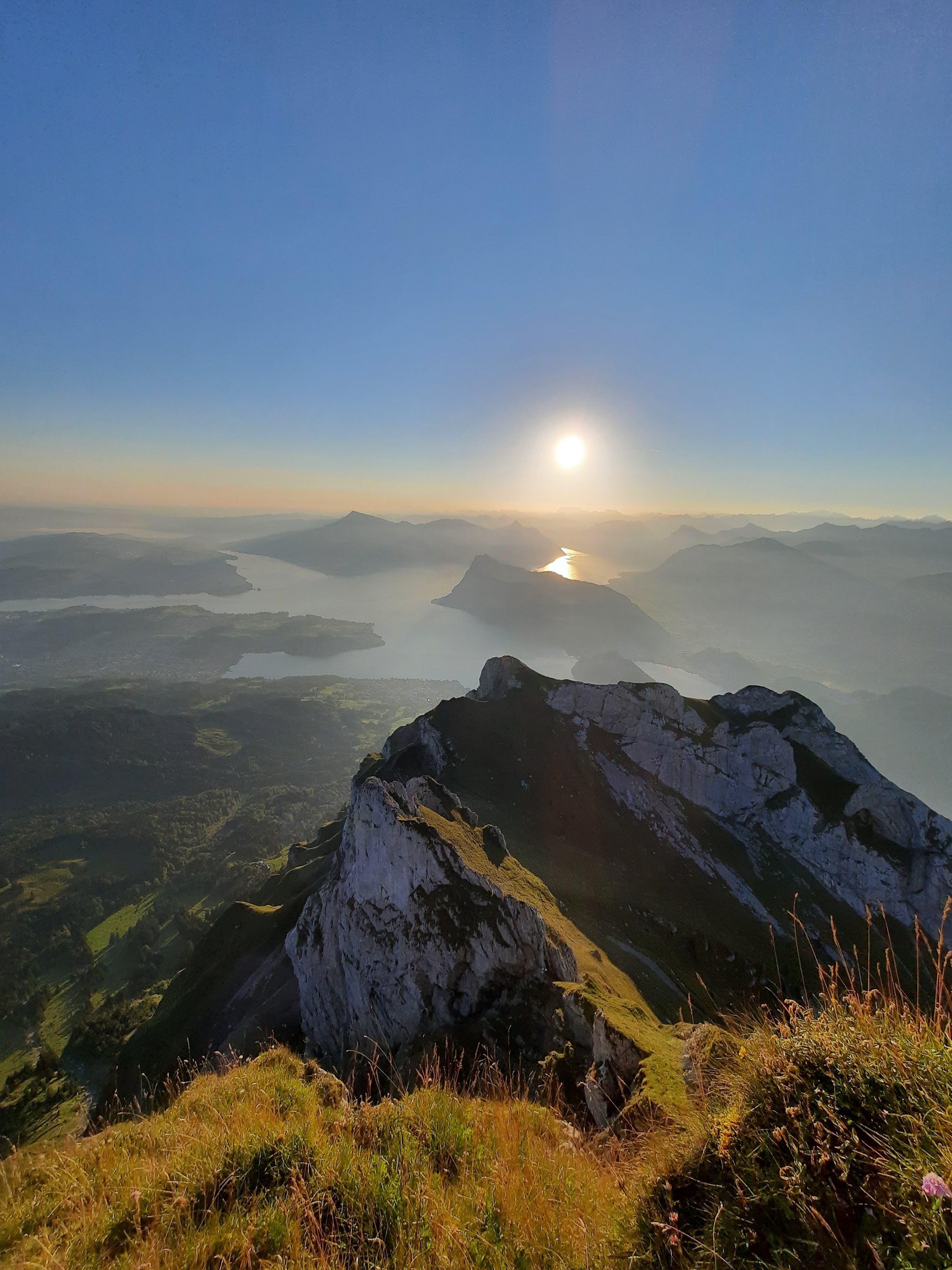 Sonnenaufgang auf dem Pilatus.