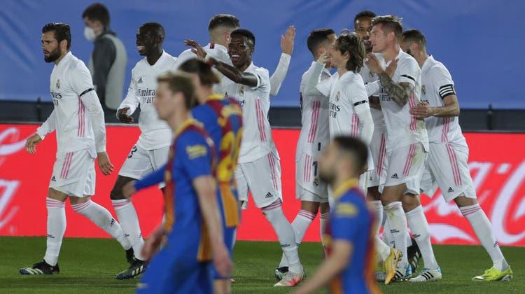 Ob Real Madrid am Sonntag wieder jubeln wird? (Manu Fernandez / AP)