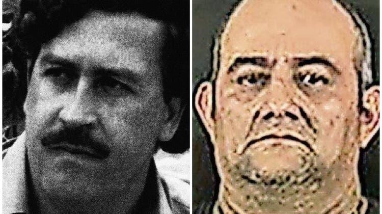 Pablo Escobar (links, † 1993) war Kolumbiens berüchtigtster Drogenbaron. Nun wurde «Otoniel» verhaftet. (Bilder: EPA, AP)