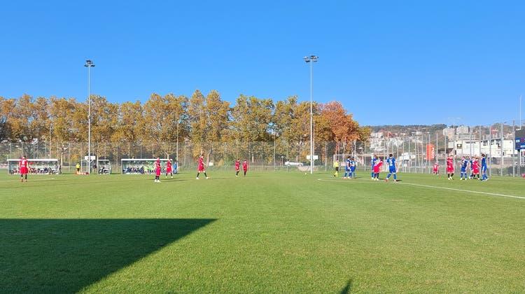 Der FC Wohlen und Kosova trennen sich mit einem 0:0-Unentschieden. (Benjamin Netz)