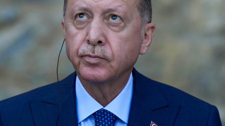 Erdogan wertete zurückhaltende Reaktionen der Botschaften als Einlenken. (Archivbild) (Keystone)