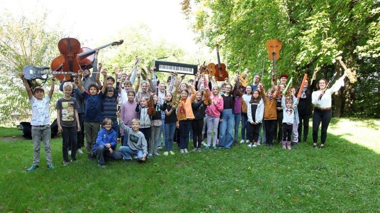 Musiklager «Jugend + Musik» der Musikschule Würenlos in Flüeli-Ranft