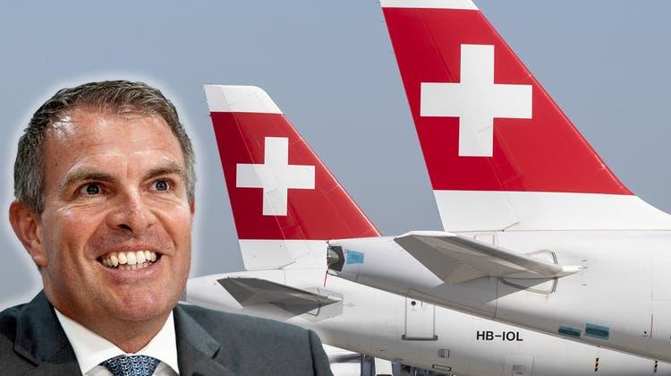 Die aktuell zwölf Boeing-777-Maschinen dürften laut Insidern auch künftig zur Swiss-Flotte gehören. Doch was ist mit den A340- und A330-Maschinenvon Airbus? (Chromorange / Markus Mainka / www.imago-images.de)