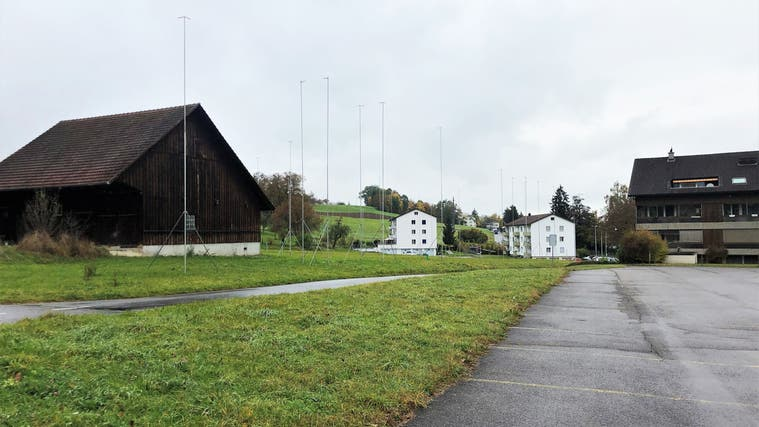 Überbauung Areal Reinach Oktober 2021 (Natasha Hähni / Aargauer Zeitung)
