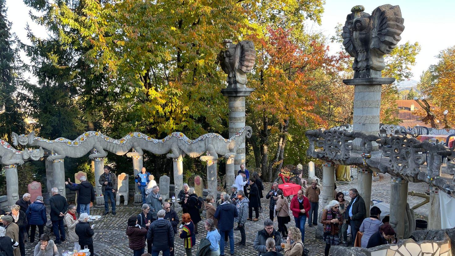 «Ihm hätte die Gedenkfeier sicher gut gefallen»: Freunde und Weggefährte erinnerten sich an Bruno Weber