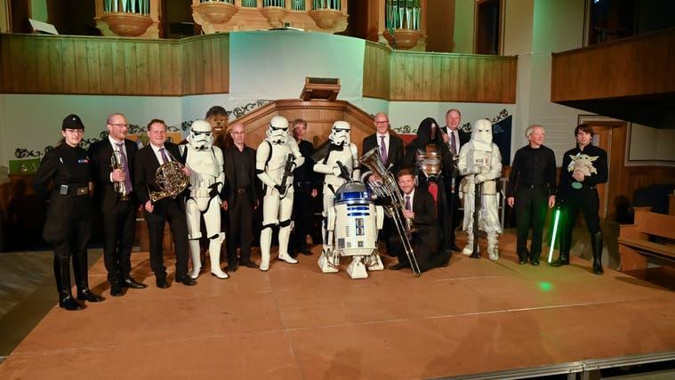 Star Wars Konzert in der Zwinglikirche Grenchen, (Oliver Menge)