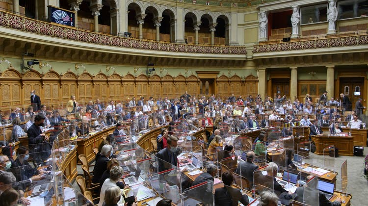 Schwindender Spielraum: Bundesrat und Parlament können bald nur noch über jeden dritten ausgegebenen Franken direkt entscheiden. (Keystone)