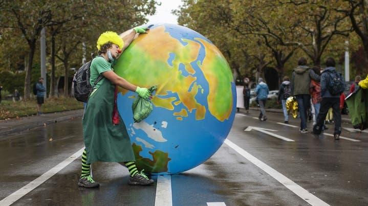 Auch in Zürich fanden in den vergangenen Monaten viele Demonstrationen für einen besseren Klimaschutz statt. (Symbolbild) (Keystone)