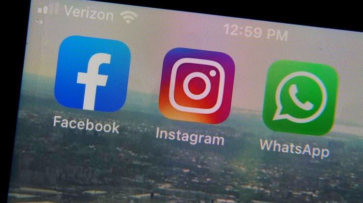 Facebook präsentiere nach aussen nur Erfolge, so der Vorwurf. (Keystone)