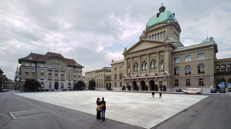 Ein teurer Platz: Das Berner Bundeshaus. (Gaetan Bally/Keystone)