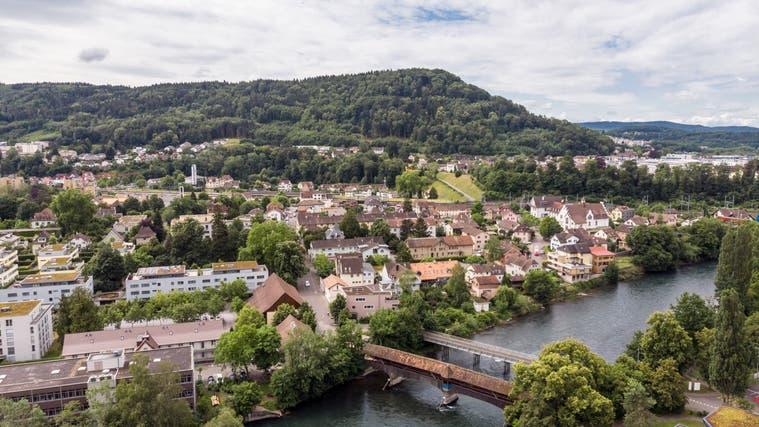 Blick auf Turgi: Eine Fusion mit Baden könnte 2023 beschlossen werden. (Sandra Ardizzone)