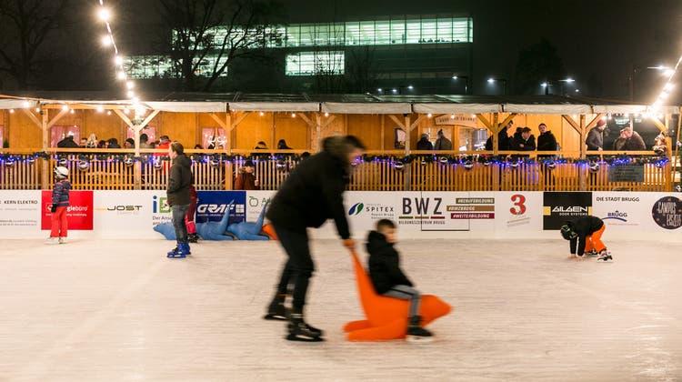 Zum letzten Mal fand die Campus Eiszeit 2019/20 statt. (Michael Hunziker (21. November 2019))