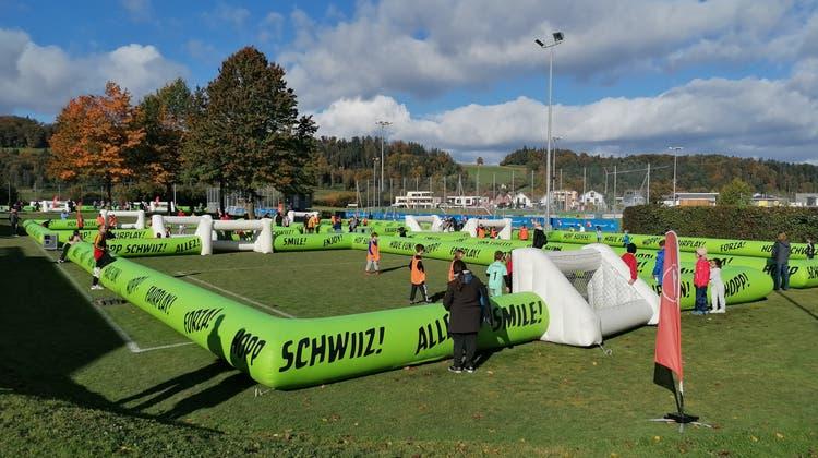 Play YOUR Credit Suisse Cup School Tour an der Primarschule Schöftland