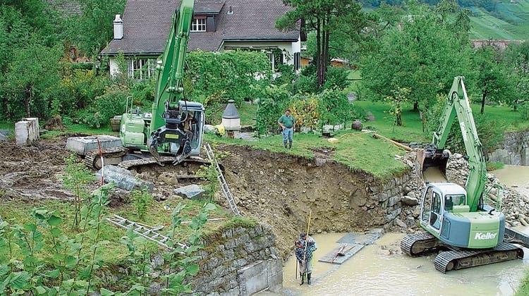 Bachprojektin Thal und Rheineck soll Sicherheit erhöhen