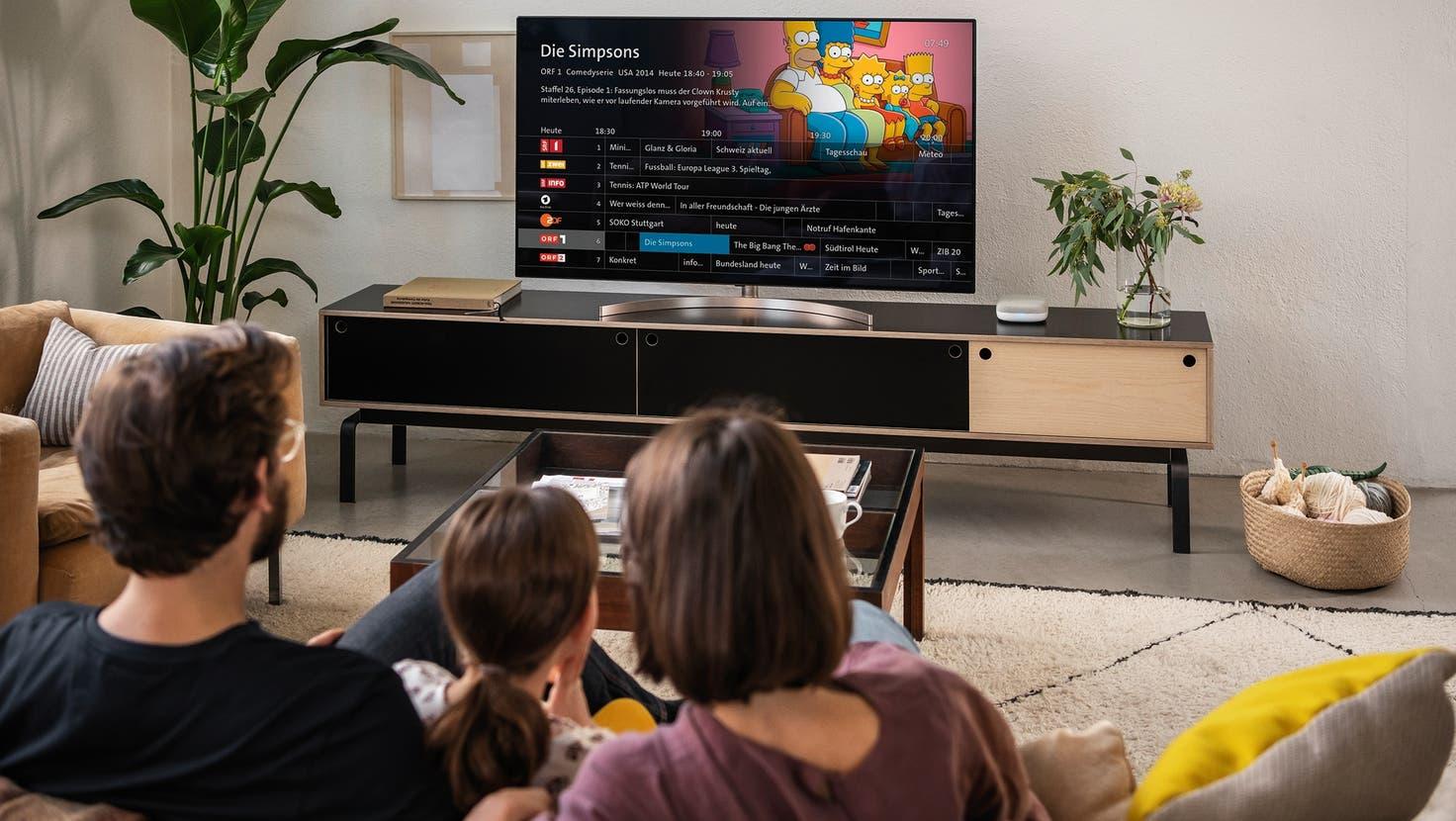 Die Swisscom lanciert ihr TV-Angebot neu. (Swisscom)