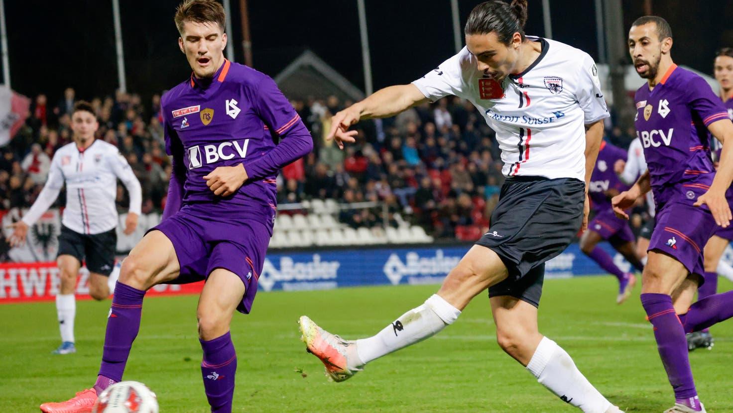 Jetzt live: Der FCAarau gerät gegen Lausanne mit 0:1 in Rückstand– und macht gehörig Druck