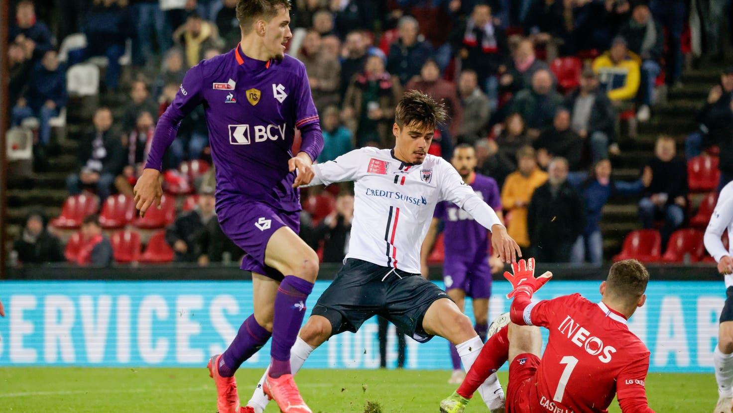 Die Druckphase bleibt ohne Erfolg: Der FC Aarau verliert gegen Lausanne-Sport mit 0:1 und scheidet aus dem Cup aus