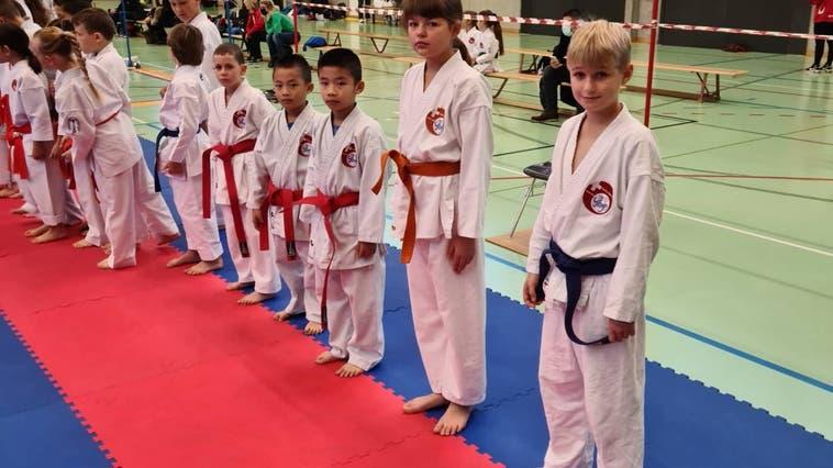 Grosserfolg für die Shinsei-Kan-Karateschule an den Aargauermeisterschaften